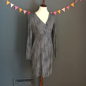 Athleta Sz S Long Sleeve Stretch Wrap Dress